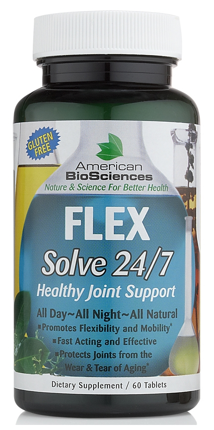 Flex Solve 24/7 - 60 tabs by American Biosciences