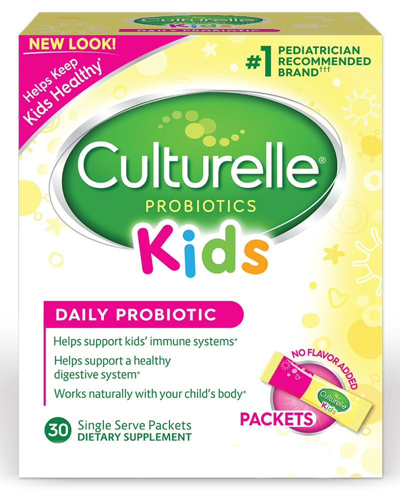 Culturelle Probiotics for Kids 30 Probiotic Packets by Amerifit