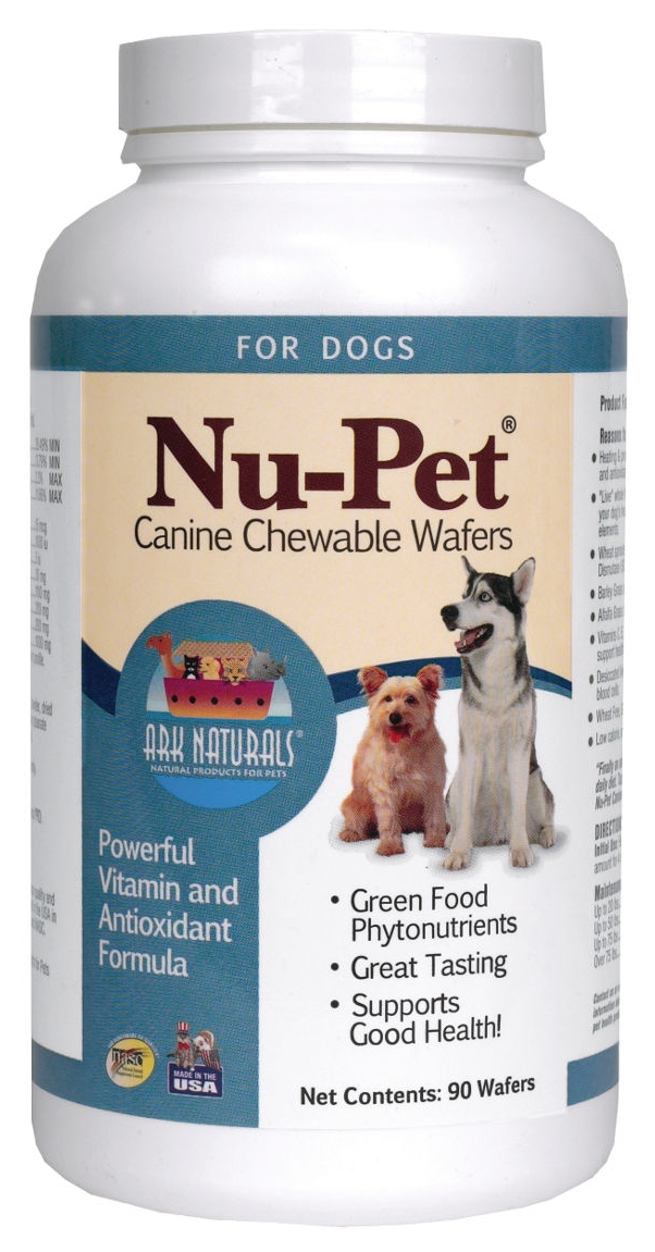 Nu-Pet Canine Chewable Wafers 90 Wafers by Ark Naturals