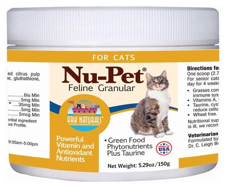 Nu-Pet Feline Grandular 150 gm by Ark Naturals