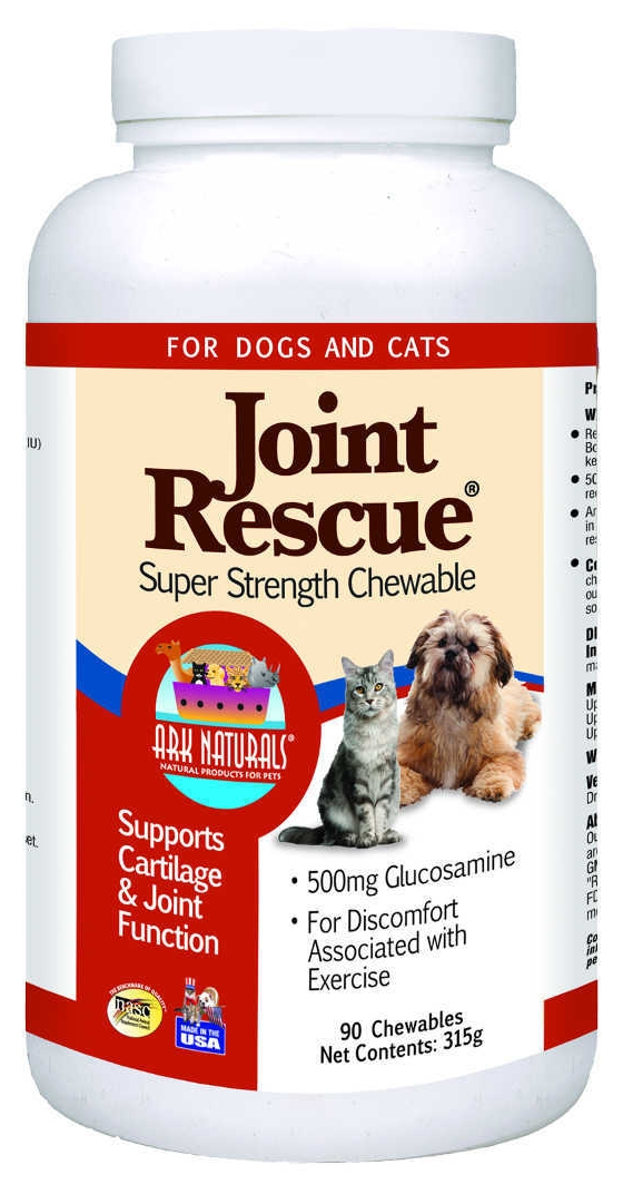 Joint Rescue Super Strength 90 Chewable Tabs by Ark Naturals