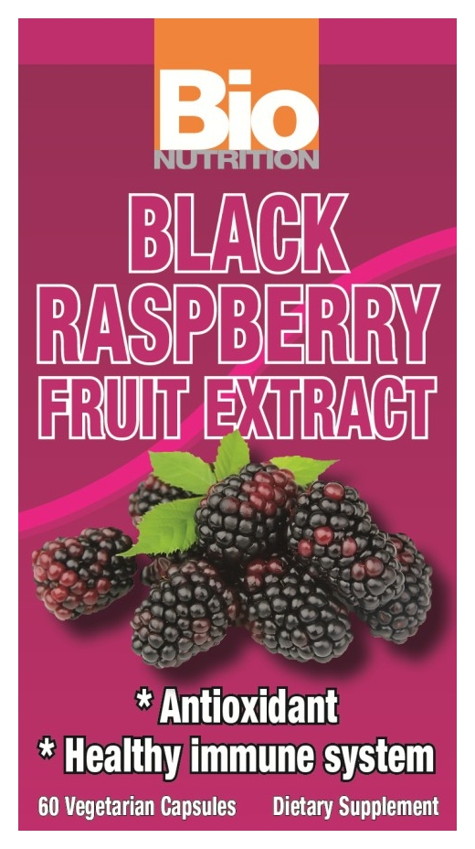 Black Raspberry Fruit Extract 60 Vegetarian caps by Bio Nutrition