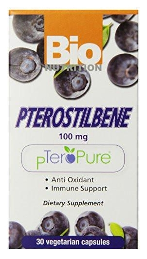Pterostilbene 100 mg 30 vegetarian caps by Bio Nutrition