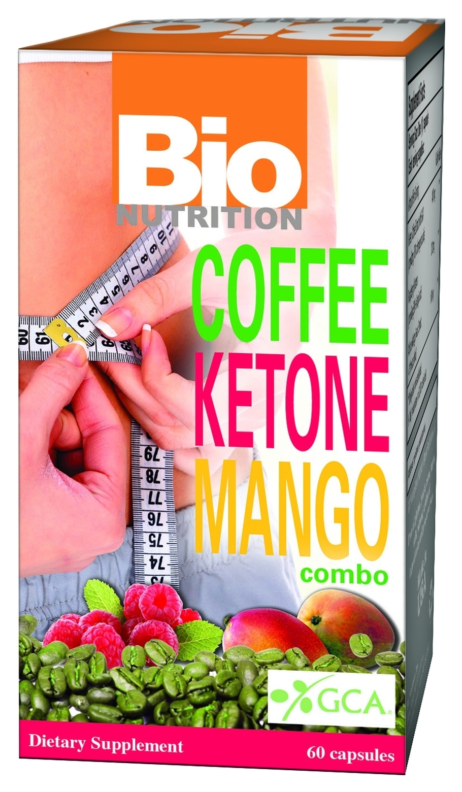 Coffee Ketone Mango Combo 60 caps by Bio Nutrition
