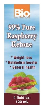 Raspberry Ketone 99% Pure 4 fl oz by Bio Nutrition (expires 12/2015)