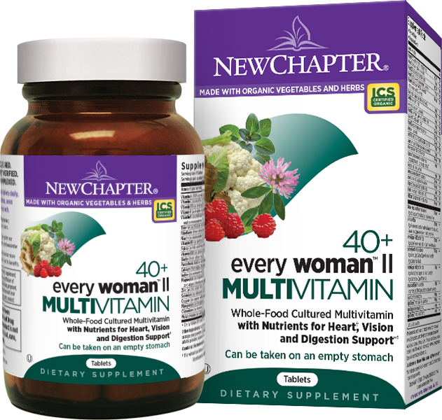 Every Woman II 40+ 96 tabs by New Chapter (expires 03/2015)