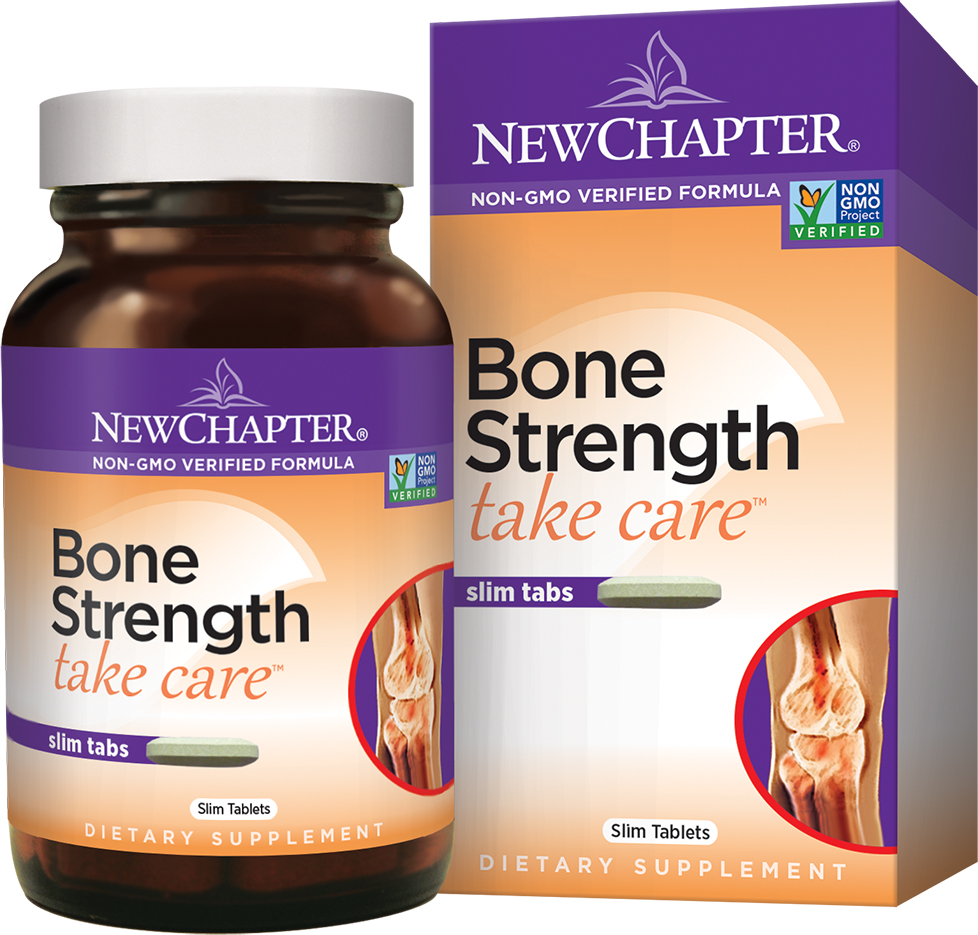 Bone Strength Take Care 120 Slim Tabs by New Chapter