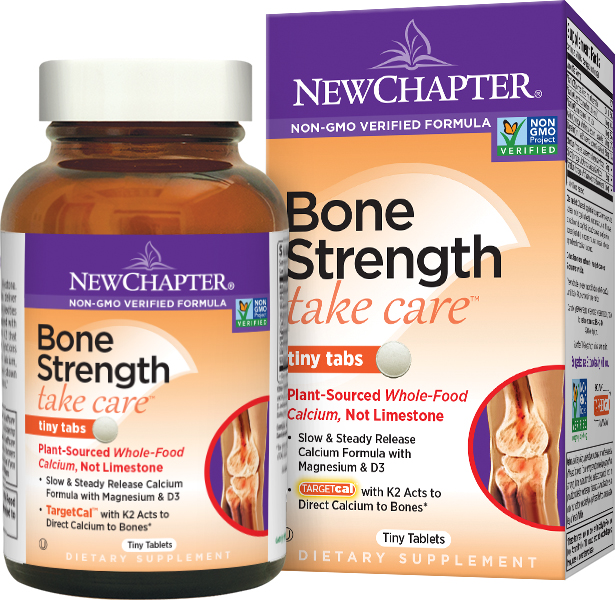 Bone Strength Take Care Tiny Tabs 240 tabs by New Chapter
