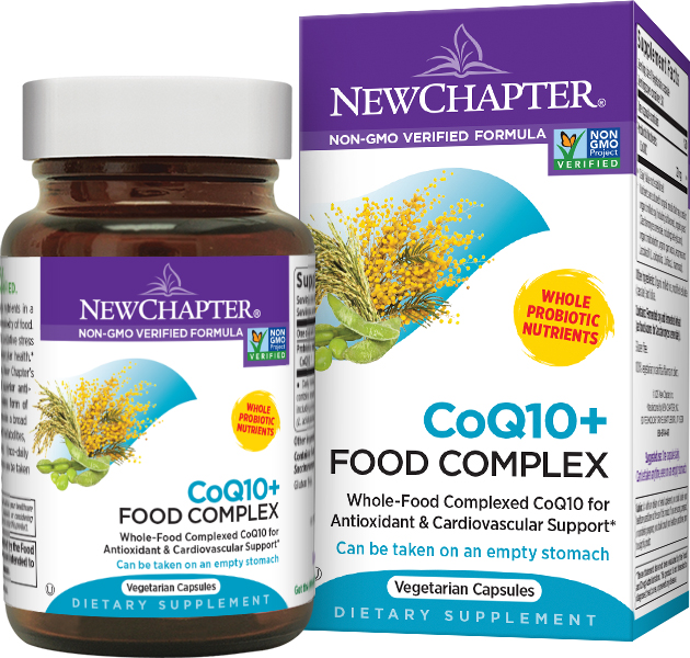 CoQ10 + Food Complex 60 Vcaps by New Chapter