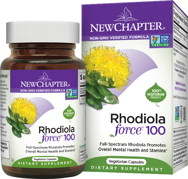 Rhodiolaforce 100 - 30 Vcaps by New Chapter