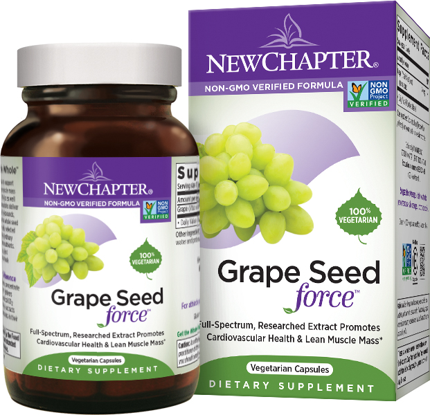 Grape Seed Force 30 Vcaps by New Chapter