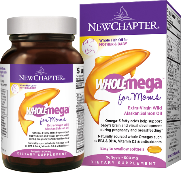Wholemega Prenatal 90 sgels by New Chapter