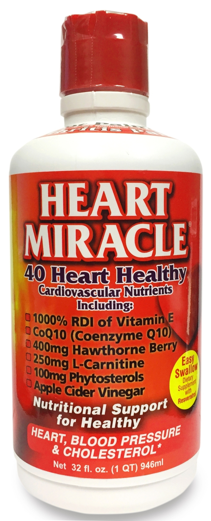 Heart Miracle Cherry Flavor 32 fl oz (946 ml) by Century Systems