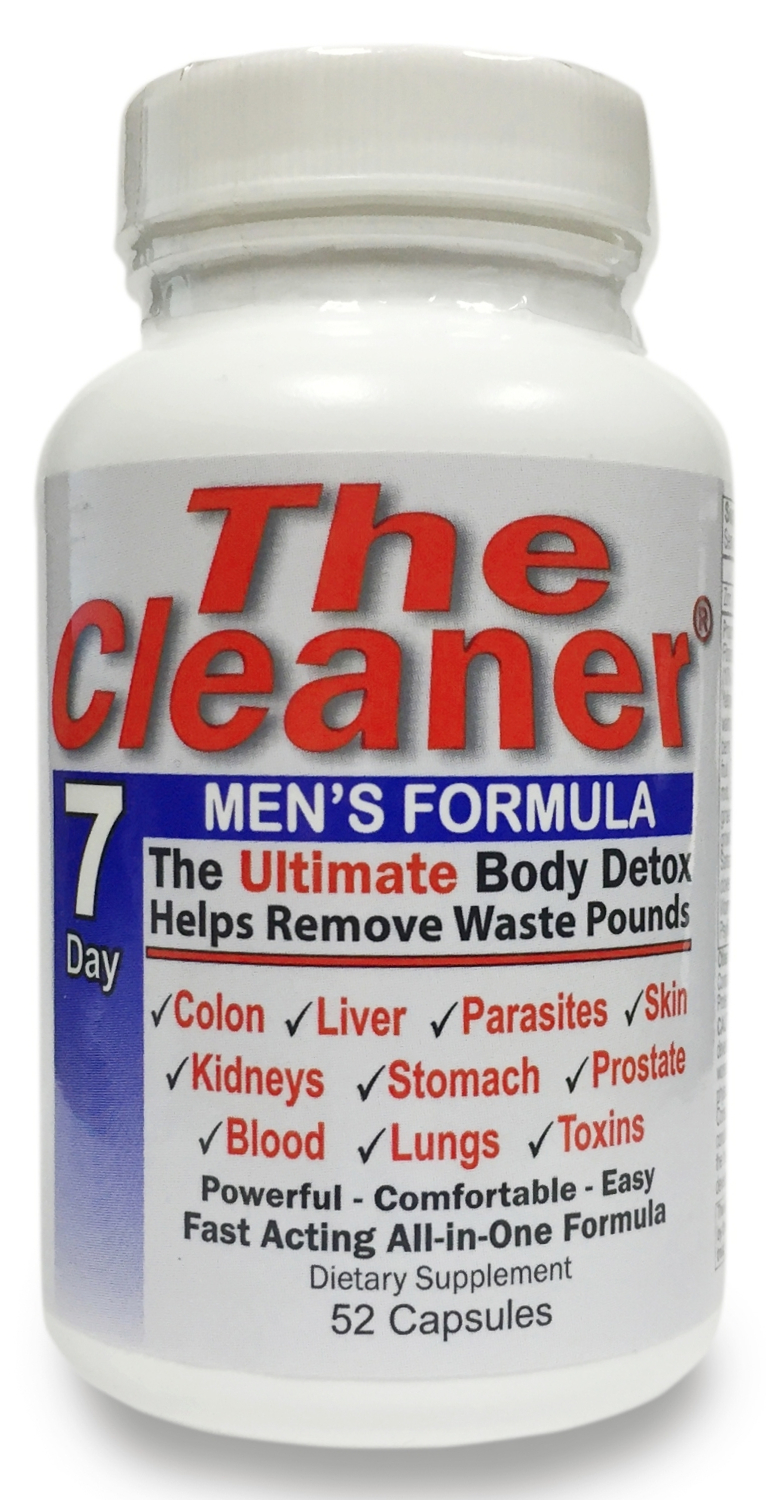 The Cleaner 7 Day Men's Formula 52 caps by Century Systems