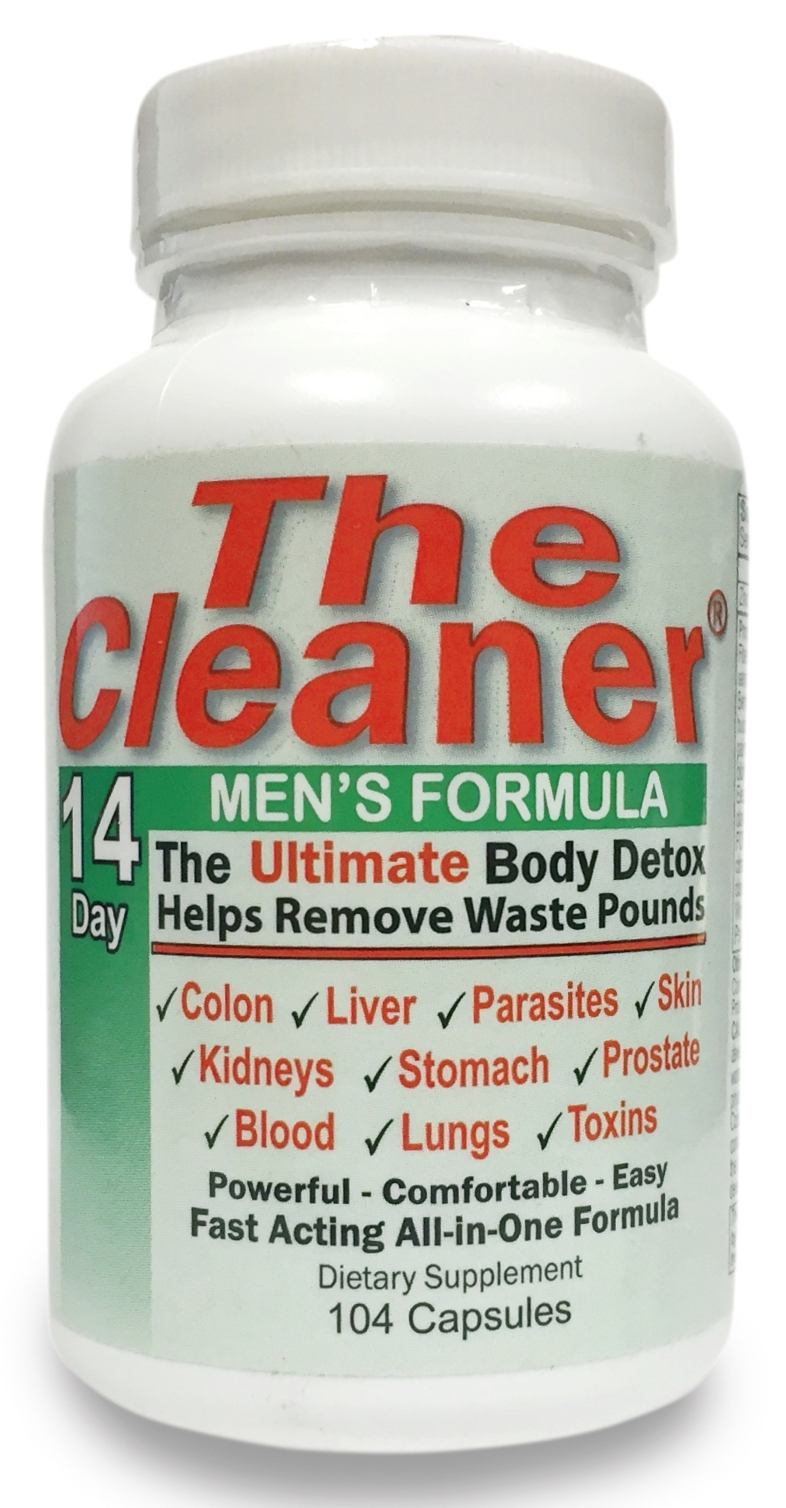 The Cleaner 14 Day Men's Formula 104 caps by Century Systems