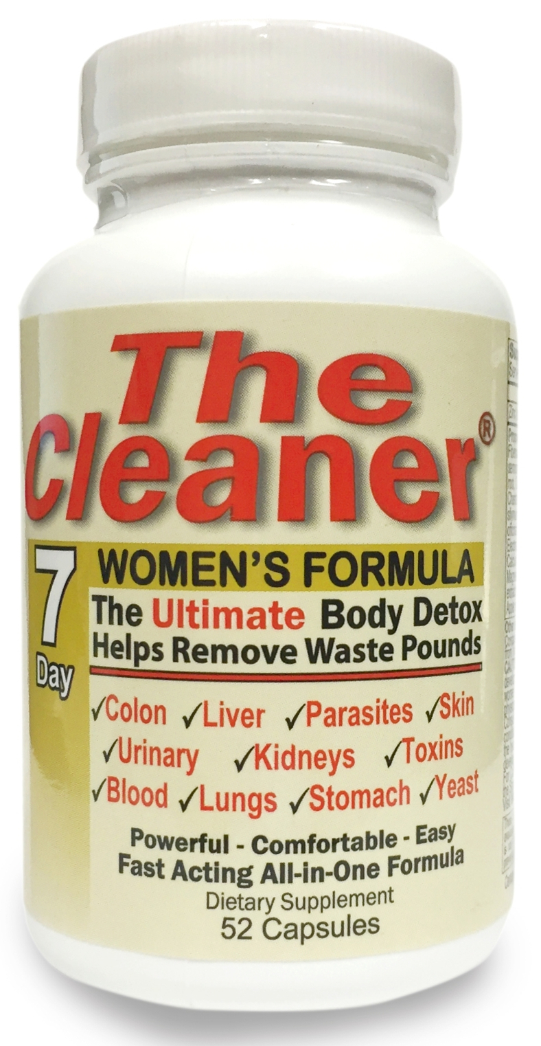 The Cleaner 7 Day Women's Formula 52 caps by Century Systems