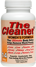 The Cleaner 14 Day Women's Formula 104 caps by Century Systems