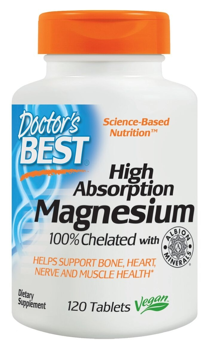 High Absorption Magnesium 240 tabs by Doctor's Best