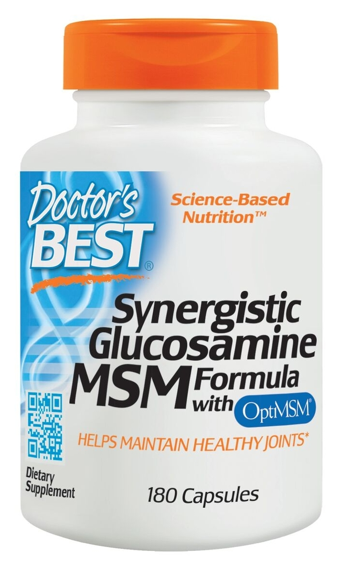 Synergistic Glucosamine MSM Formula 180 caps by Doctor's Best