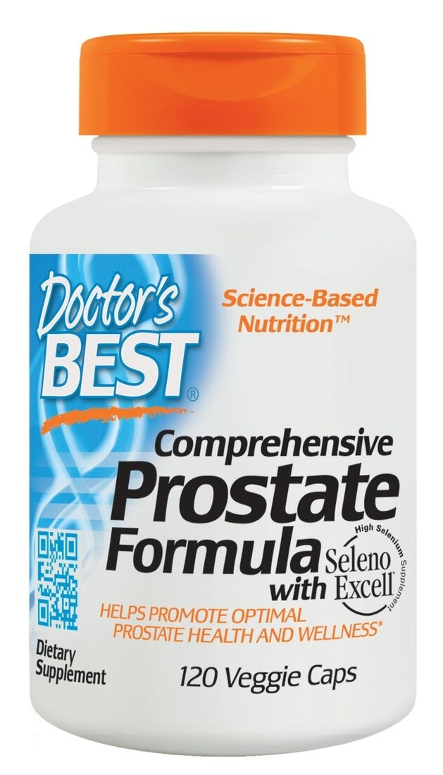 Comprehensive Prostate Formula 120 Veggie Caps by Doctor's Best