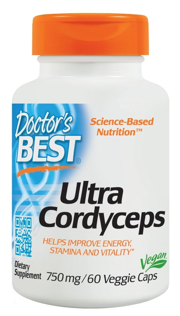 Ultra Cordyceps 60 Veggie Caps by Doctor's Best