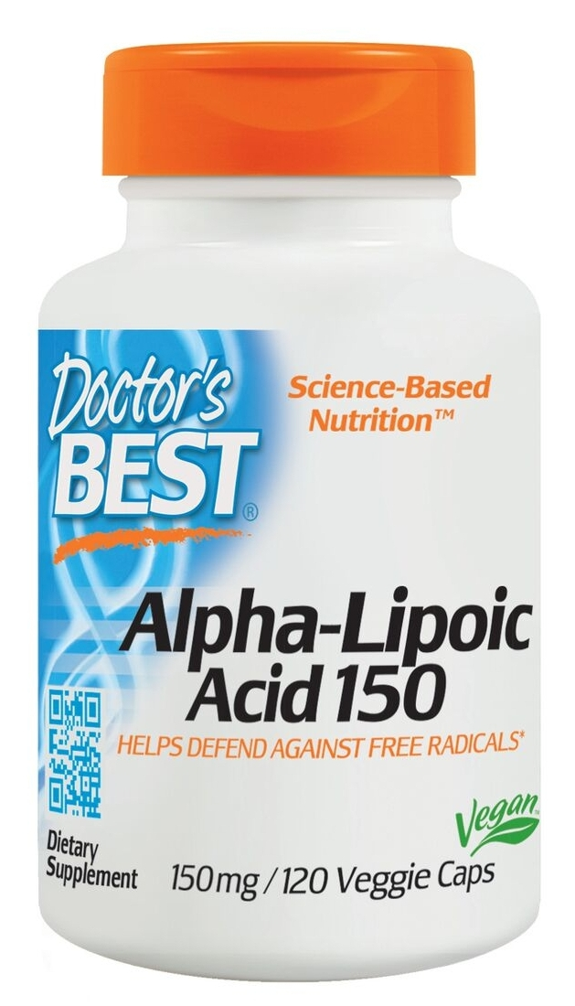 Best Alpha Lipoic Acid 150 mg 120 caps by Doctor's Best