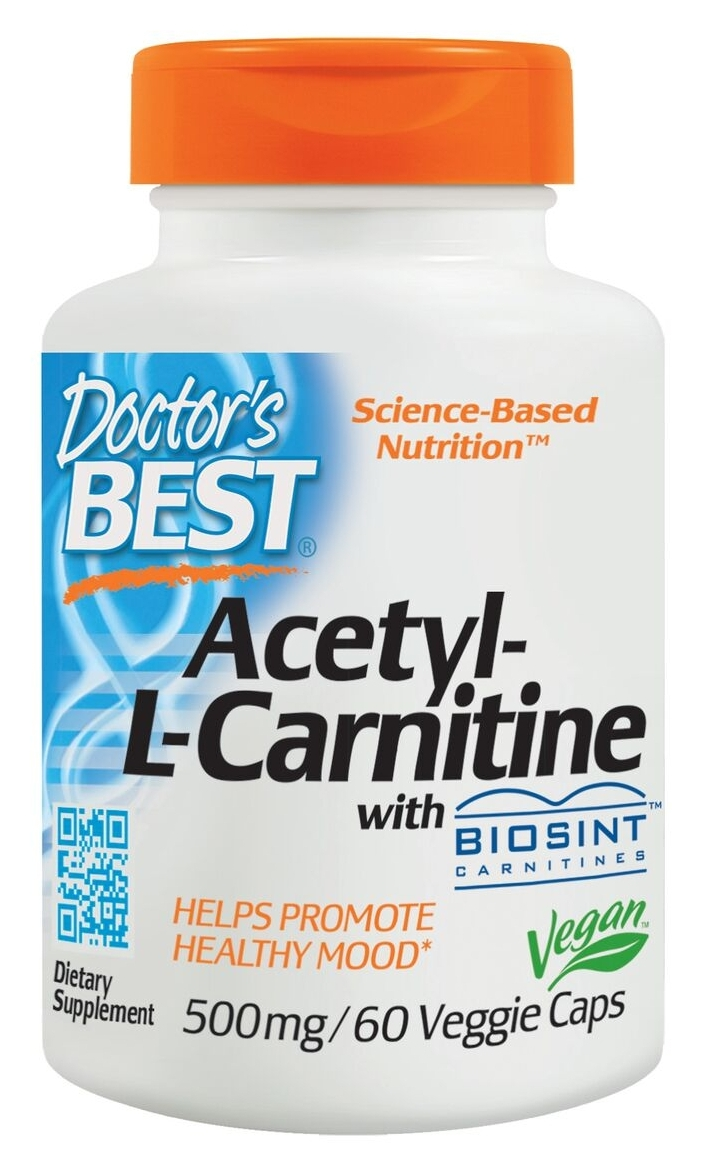 Best Acetyl L-Carnitine 588 mg 60 caps by Doctor's Best