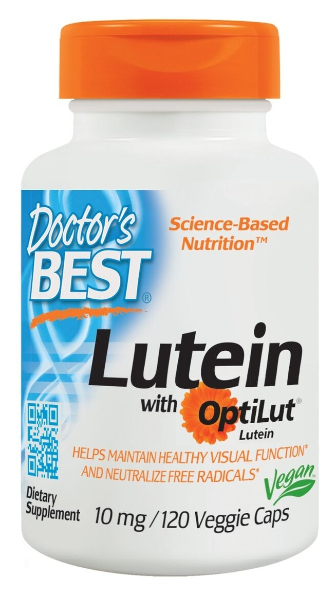 Best Lutein 120 Veggie Caps by Doctor's Best