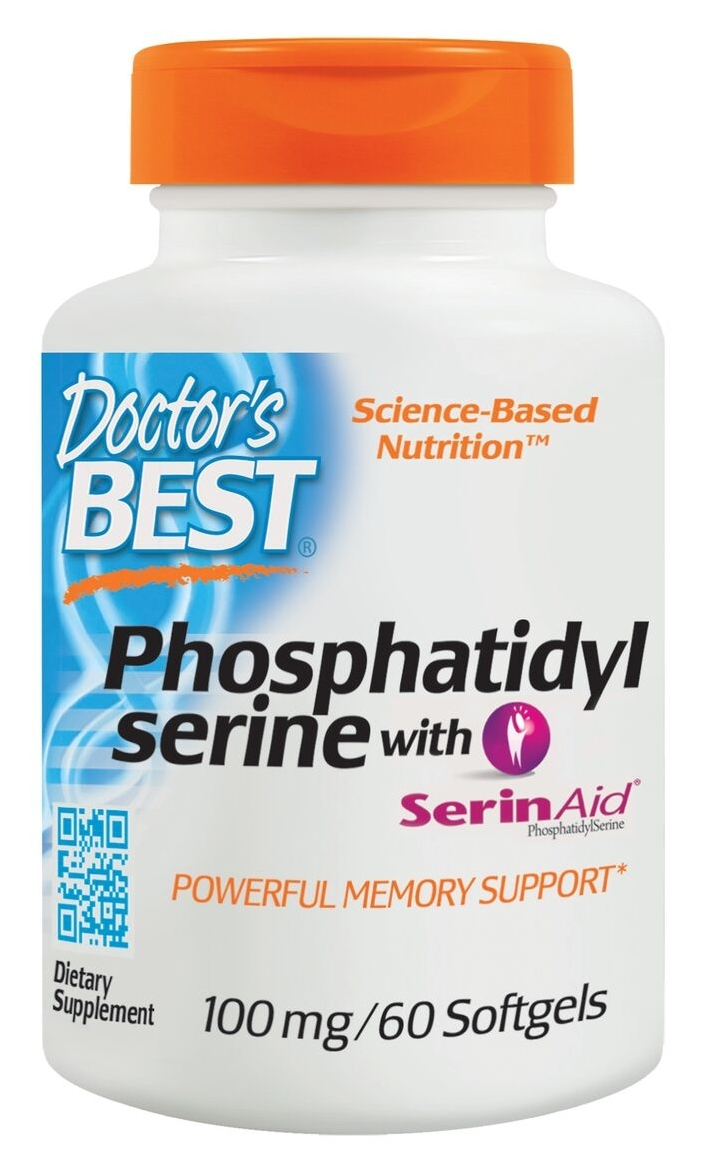 Best Phosphatidyl Serine 100 mg 60 sgels by Doctor's Best