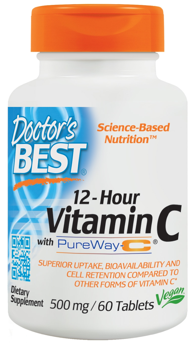 PureWay-C Sustained Release Vit. C 60 tabs by Doctor's Best
