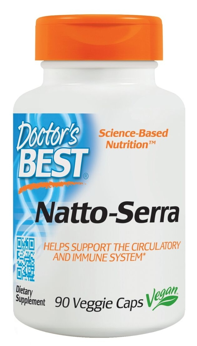 Best Natto-Serra 90 Veggie Caps by Doctor's Best