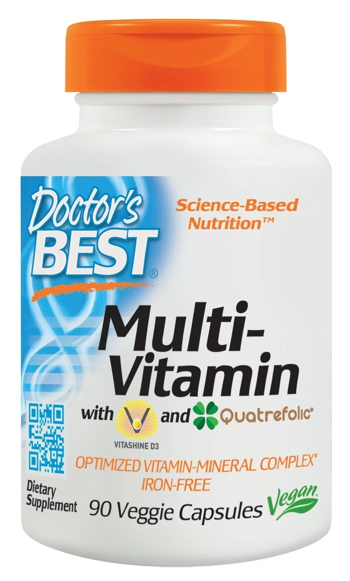 Best Multiple 90 Veggie caps by Doctor's Best