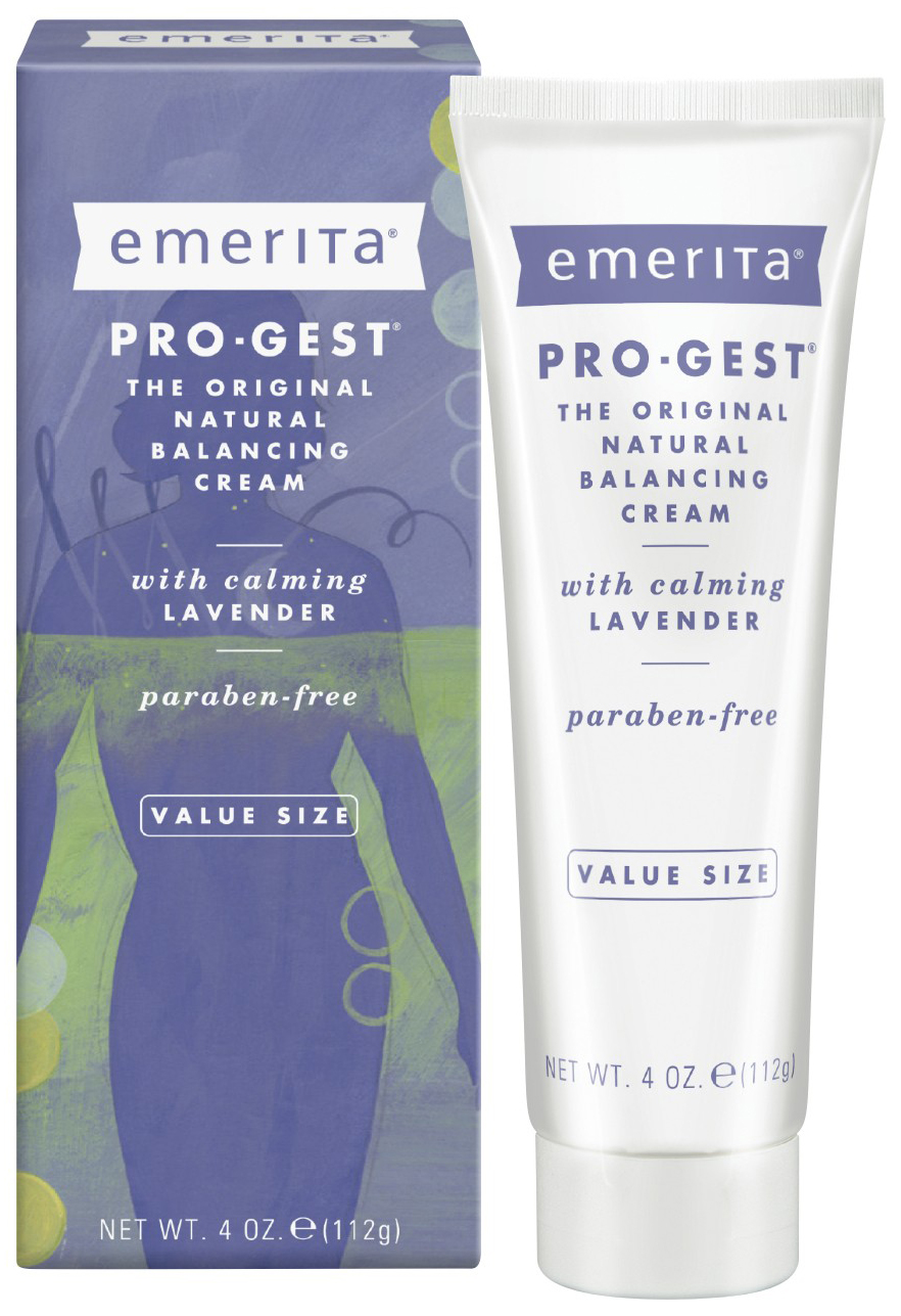 Progest Cream with Lavender 4 oz by Emerita