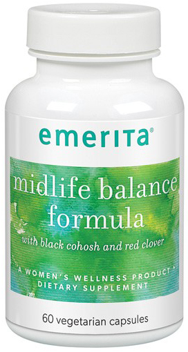Emerita Midlife Balance Formula (formerly Menopause Plus) 60 Vege Caps