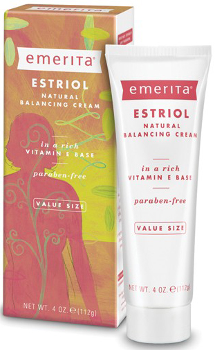 Estriol Natural Balancing Cream 4 oz by Emerita