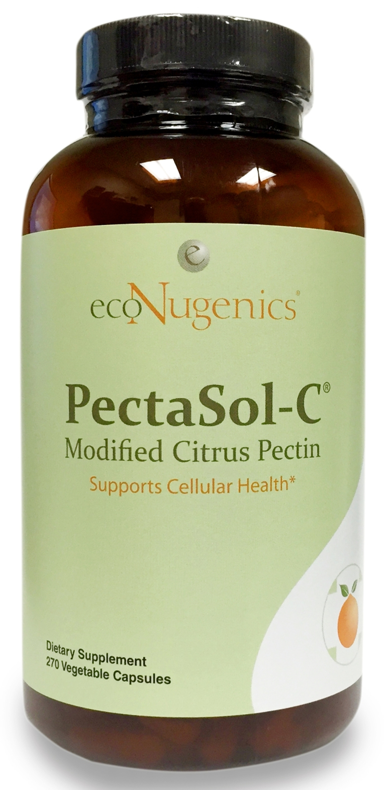 PectaSol-C Modified Citrus Pectin 270 vege caps by EcoNugenics