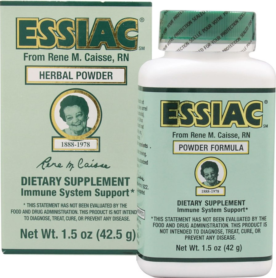 Essiac Herbal Supplement Powder 1.5 oz (42 g) by Essiac Canada International