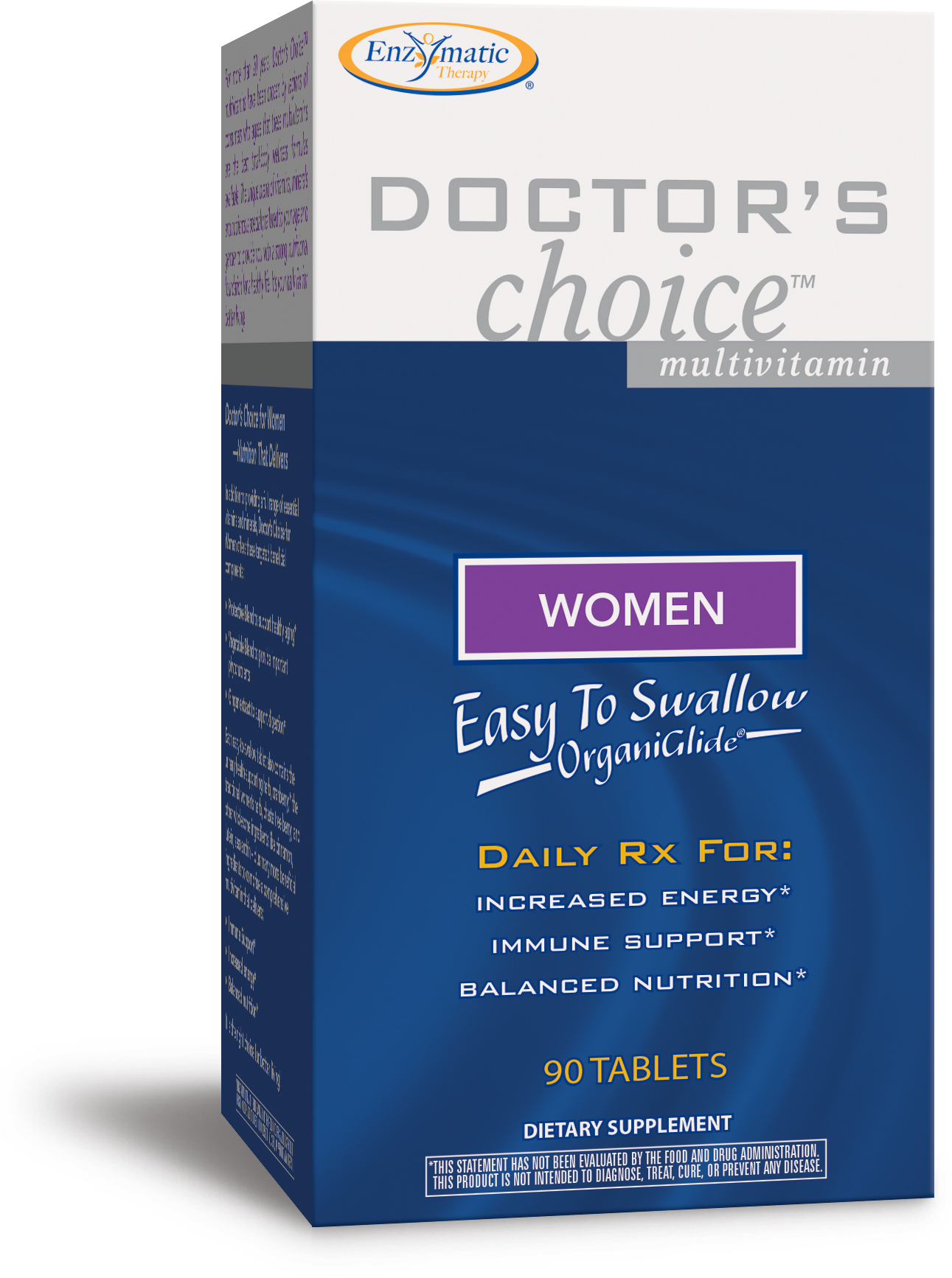 Doctor's Choice Multivitamins Women 90 tabs by Enzymatic Therapy