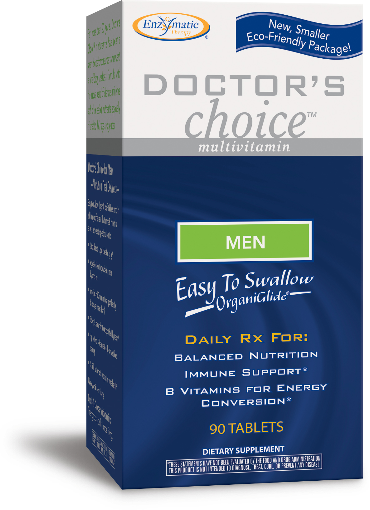 Doctor's Choice Multivitamins Men 90 tabs by Enzymatic Therapy
