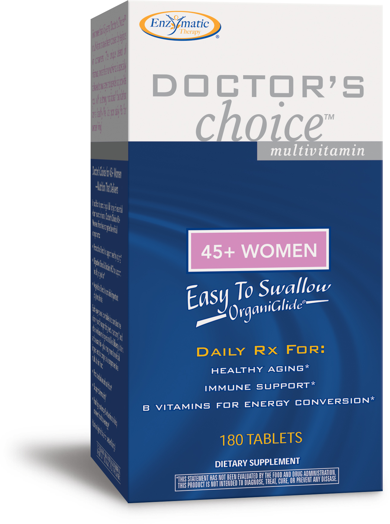 Doctor's Choice Multivitamins 45+ Women 180 tabs by Enzymatic Therapy