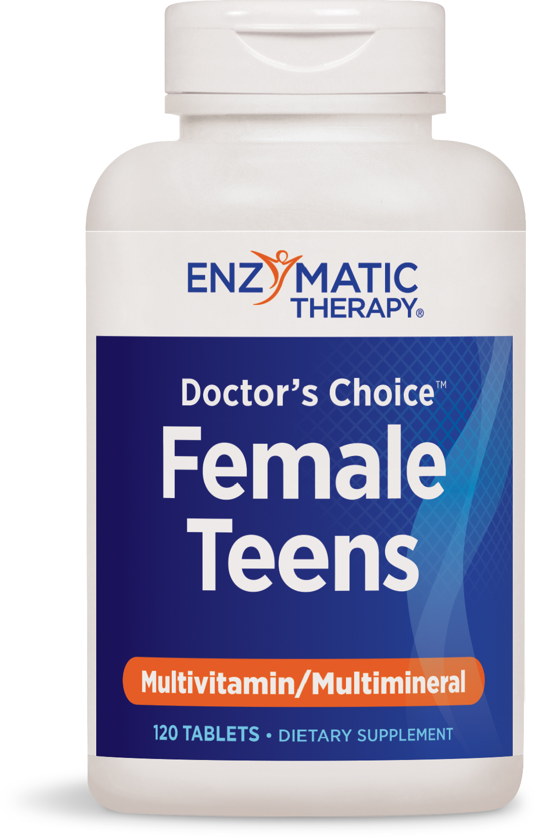 Doctor's Choice Multivitamins for Female Teens 120 tabs by Enzymatic Therapy