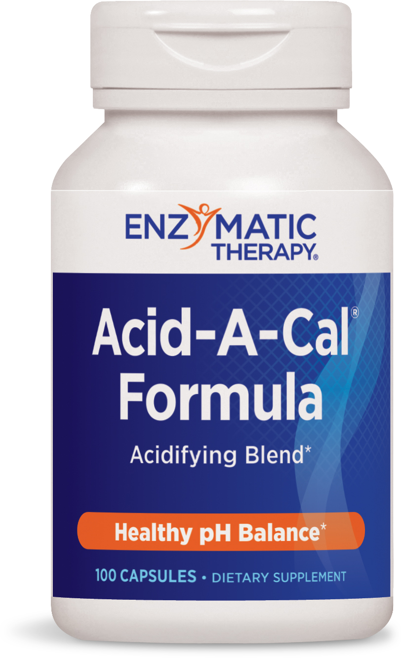 Acid-A-Cal 100 Veg caps by Enzymatic Therapy
