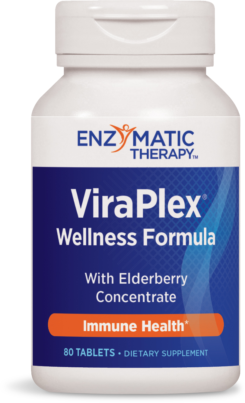 ViraPlex Wellness Formula 80 tabs by Enzymatic Therapy