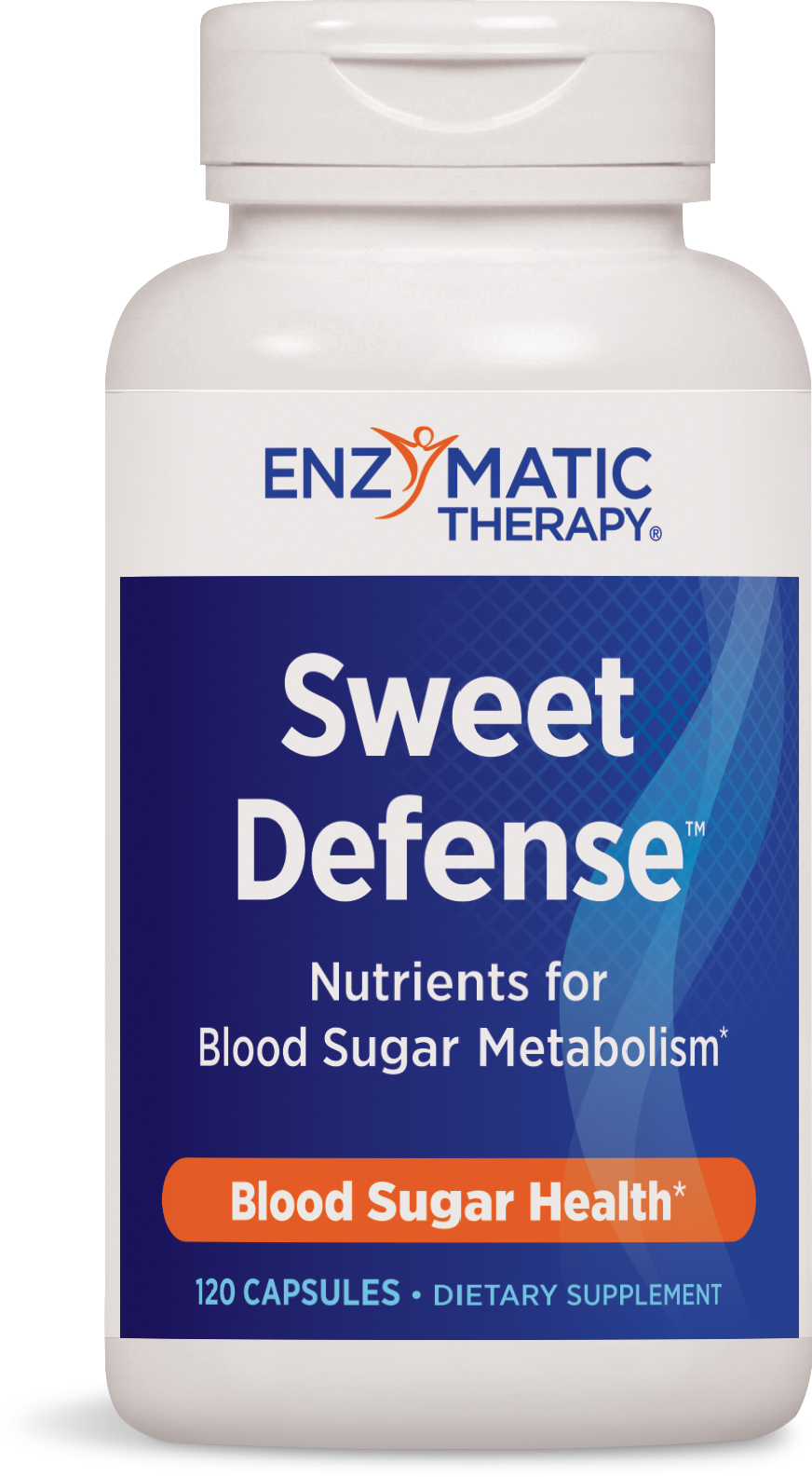 Sweet Defense Fast-Acting Formula 120 caps by Enzymatic Therapy