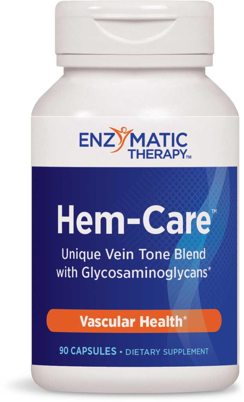 Hem-Care Vein Health 90 caps by Enzymatic Therapy