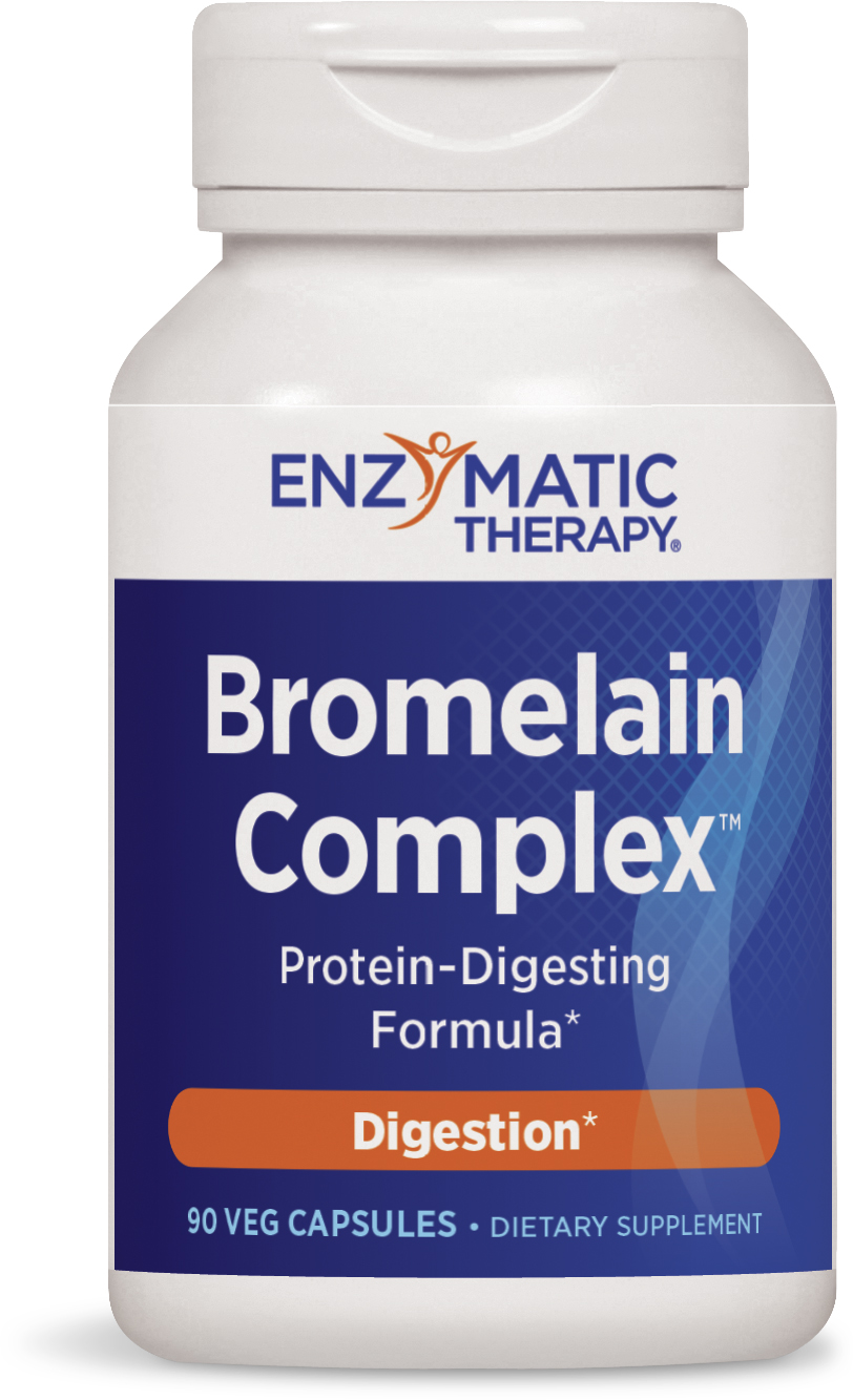 Bromelain Plus 90 Veg caps by Enzymatic Therapy (expires 10/2015)