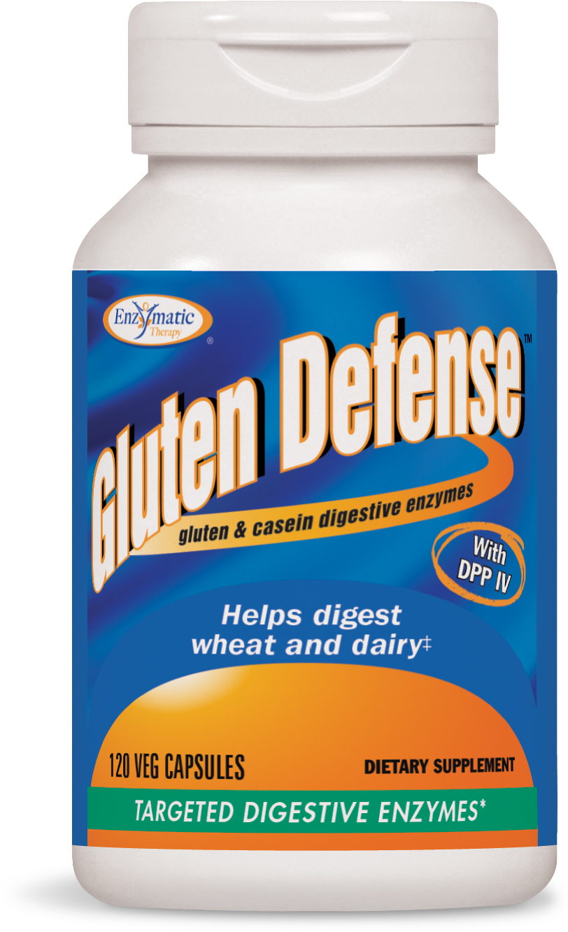 Gluten Defense 120 Veg caps by Enzymatic Therapy