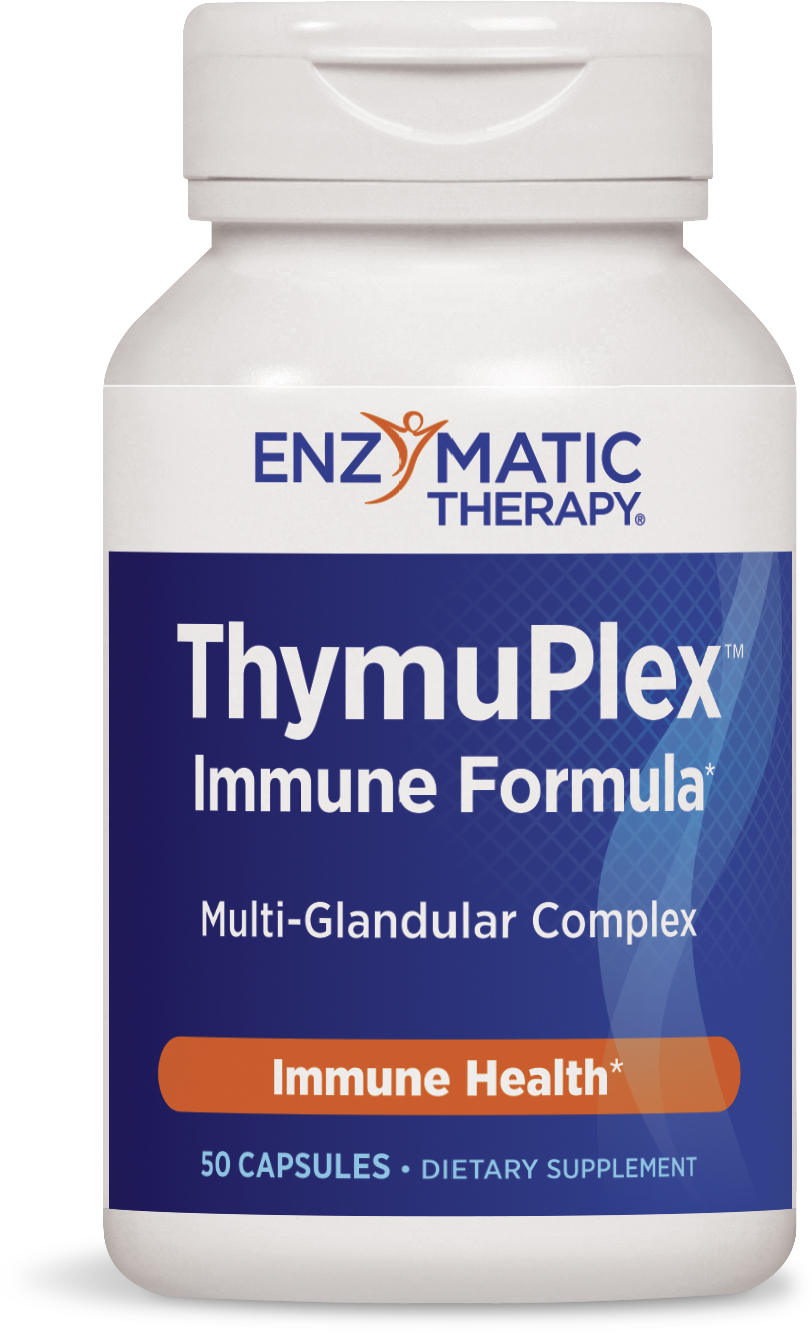 ThymuPlex Immune Booster 50 caps by Enzymatic Therapy