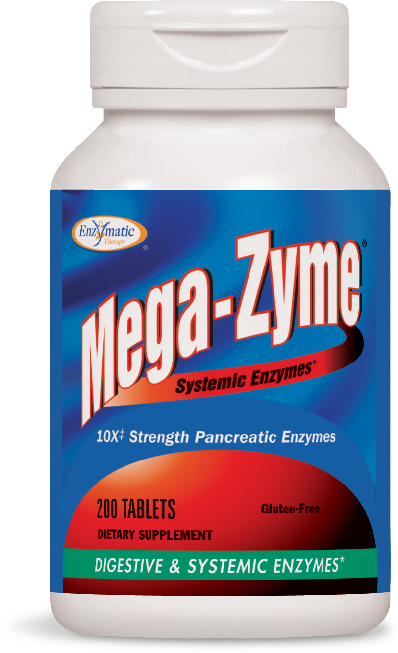 Mega-Zyme 200 tabs by Enzymatic Therapy