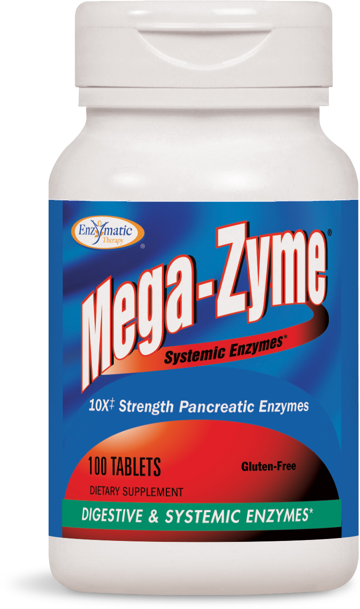 Mega-Zyme 100 tabs by Enzymatic Therapy